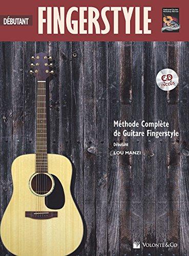 Fingerstyle Guitare Debutant Par Lou Manzi + Cd