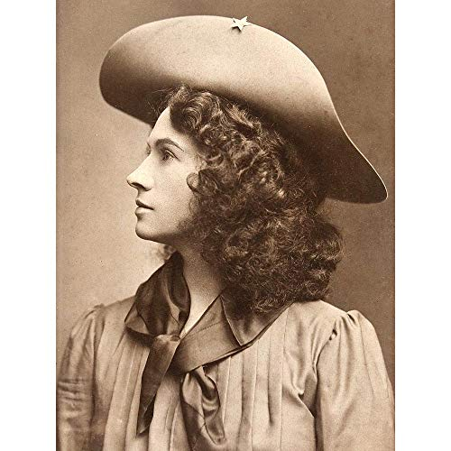 Photograph Sharp Shooter Wild West Buffalo Bill Annie Oakley Art Print Poster Wall Decor Kunstdruck Poster Wand-Dekor-12X16 Zoll