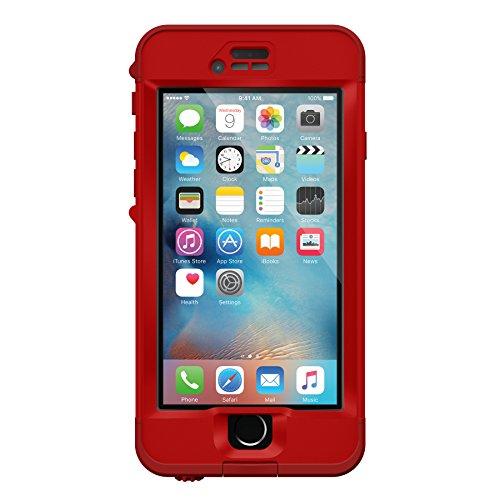 OtterBox Strada Etui en cuir antichoc pour iPhone 6 Plus/6S Plus Marron Rouge