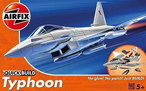 Airfix Quick Build Eurofighter Typhoon Flugzeug Modell Bausatz