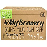Bio Pilsen Ale kit de brassage My Brewery. Faire sa bière maison. Matières premières biologique accréditées. Instructions en français