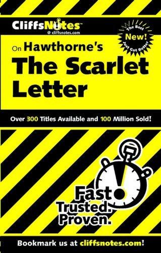 The Scarlet Letter (Cliffs Notes) by Susan Van Kirk (2000-05-22) (Notes Cliff Scarlet Letter)