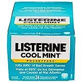Listerine PocketPaks strisce Igiene Orale, Cool Mint - 24 EA, caso di...