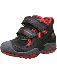 Geox Jungen J New Savage Boy B Hohe Sneaker