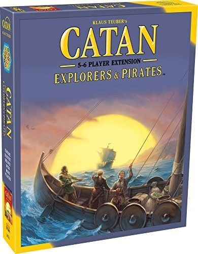 Mayfair Games MFG03076 - Brettspiele, Catan, Explorers und Pirates 5-6 Player Expansion