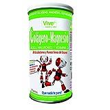 Vive+ Colágeno + Magnesio, Ácido Hialurónico y Vitamina C, Lata - 2 Paquetes de 200 gr - Total: 400 gr