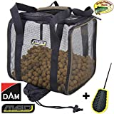 Mega Fishing Dam MAD Clever Dry Bag Trockentasche/Boilietasche - Köder Tasche Futtertasche -...