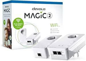 Devolo Magic 2 Wifi Starter Kit 2 1 2 1xwifi 1xlan 2400mbps Powerline Adapter