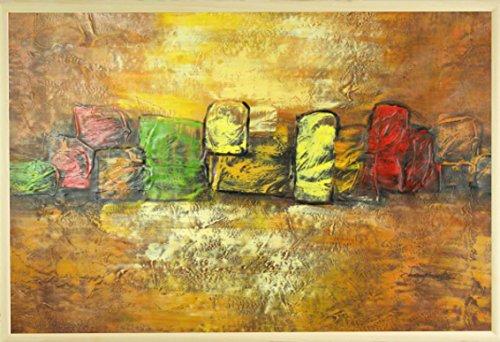 dans-le-milieu-var-5-peinture-a-lhuile-sur-toile-60-x-90-cm-61-x-914-cm-encadree-en-brown-gold-cadre
