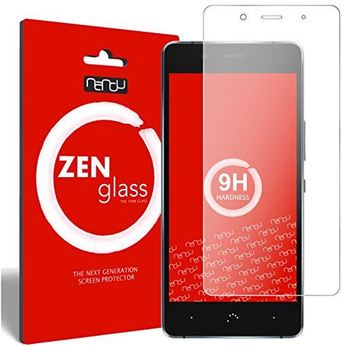 nandu I ZenGlass Flexible Glas-Folie für BQ Aquaris X5 Plus Panzerfolie I Bildschirm-Schutzfolie 9H