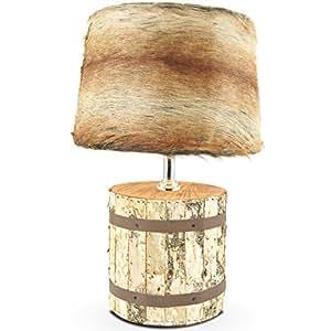 mojo lampe de table avec abat jour r tro fourrure bezoger urban design lampe mj l42. Black Bedroom Furniture Sets. Home Design Ideas