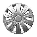 15 Zoll Radzierblenden SNAKE (Silber). Radkappen passend für fast alle VW Volkswagen wie z.B. Golf 7!