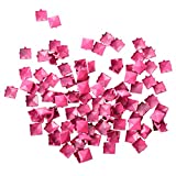 Best SODIAL(R) Rivets - SODIAL(R) 100 Rose 9mm Pyramid Studs Spots Rivets Review