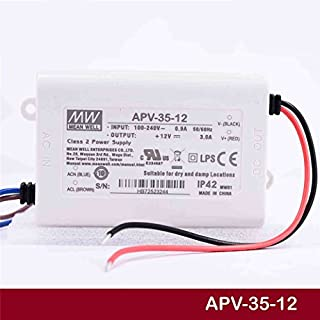 MEAN WELL LED power supply 36W MeanWell Switching power supply APV-35 (APV-35-12)