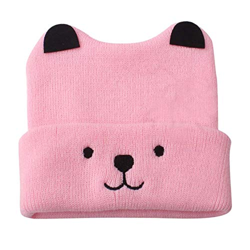 Y56 Winter Warm Crochet Strickmütze Beanie Cap Neugeborenes -