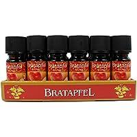 18 Botellas Aceites Esenciales Perfumados Concentrados - BRATAPFEL- 10ml cada uno envase de vidrio Envio