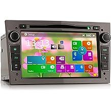 Erisin unidad principal de reproductor DVD GPS de 7pulgadas para coche, estéreo multimedia para coche, Bluetooth integrado para Vauxhall, Opel, Holden, Antara, Vivaro, Astra, Corsa, ES7160R
