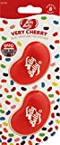 Jelly Belly 15710A 3D Gel Mini Vent Air Freshener Duo Pack-Very Cherry