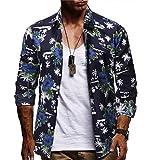 Tops Blouse Homme T-Shirt,UINKING Chemise hawaïenne pour Hommes - À Manches Courtes...