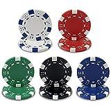 Styleys® 11.5 Gms Round Ceramic Poker Chips Set (200)