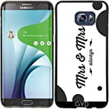 SilikonHülle für Samsung Galaxy S6 Edge Plus - Mrs & Mrs by Asmo