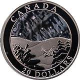 Kanada Unzen Natur Wonders 2004Silber Hologramm Medaille in Kapsel