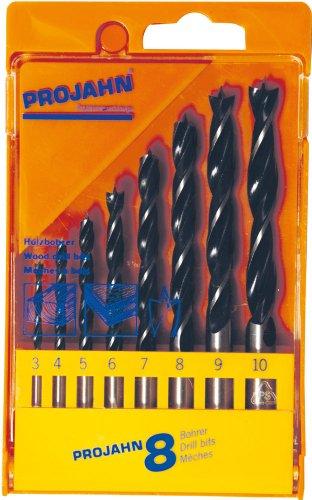Projahn Kunststoffkassette Holz 8-teilig 3-10 mm, 67040