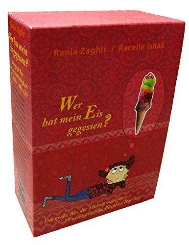 Wer hat mein Eis gegessen? (Die große Box der Mehrsprachigkeit): Die große Box der Mehrsprachigkeit: 19 zweisprachige Bücher und 1 Hör-CD (Albanisch, ... Russisch, Serbisch, Spanisch, Türkisch, Urdu)