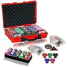 Casinoite Billium Clay 500 Poker Chips Set