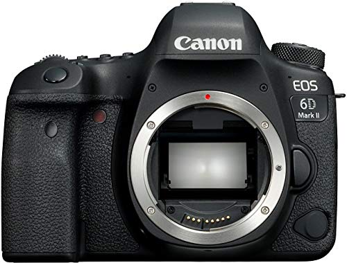 Canon EOS 6D Mark II SLR-Digitalkamera (26,2 MP, 7,7cm (3 Zoll) Display, DIGIC 7, mit WLAN/NFC/blautooth und GPS, Gehäuse) schwarz (Generalüberholt) -