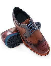 Zerimar Zapatos con Alzas Hombre| Zapatos de Hombre con Alzas Que Aumentan su Altura + 7 cm| Zapatos con Alzas para Hombres |…
