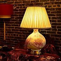 ZYCkeji Zart Tischlampe Europäische Schlafzimmer Nachttisch Wohnzimmer Studie Dekorative Lampe Originalität (Farbe... preisvergleich bei billige-tabletten.eu