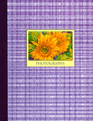 Floral Abstract: Photograph Album
