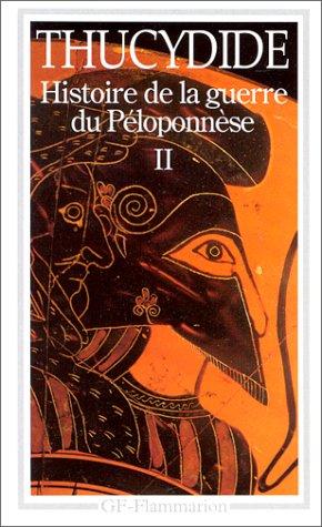 Histoire de la guerre du Péloponnèse : Tome 2