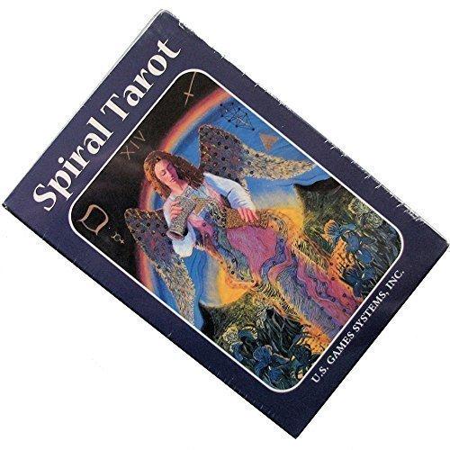 Spiral Tarot par Kay Steventon, 78 Cartes de Divination avec Instructions en Anglais