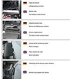 KUDA 094420 Auto Passive Halterung Schwarz Halterung - Halterungen (Handy/Smartphone, Auto, Passive Halterung, Schwarz, Leder, Vauxhall Astra H (04-09))