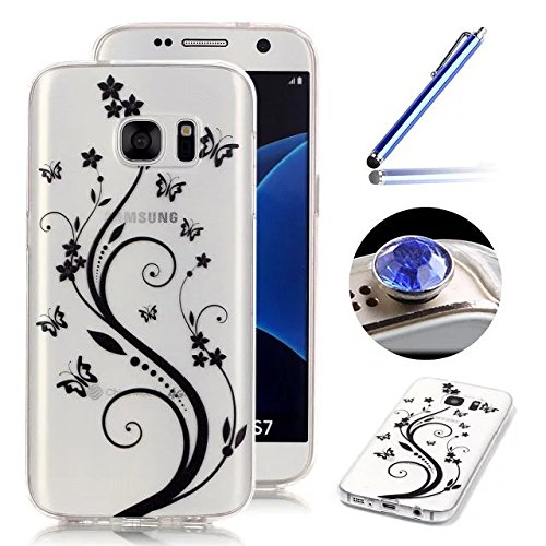 galaxy-s7-edge-clear-casesamsung-galaxy-s7-edge-silicone-caseetsue-creative-butterfly-flower-pattern