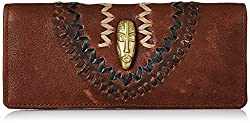Hidesign Maasai Womens Wallet (Brn Off-Wht Blk)