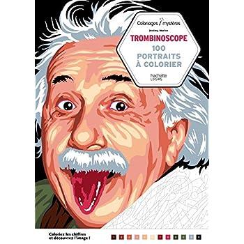Trombinoscope: 100 portraits à colorier