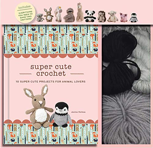Super Cute Crochet  10 Super Cute Projects for Animal Lovers (Crochet Kits) 3bad957a7ed4