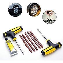 Kit de reparación de neumáticos,Herramienta de reparación de neumáticos sin cámara ...