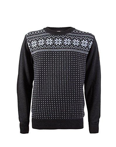 Dale of Norway Herren Pullover Garmisch Masculine Sweater schiefer / smoke / grey mel.