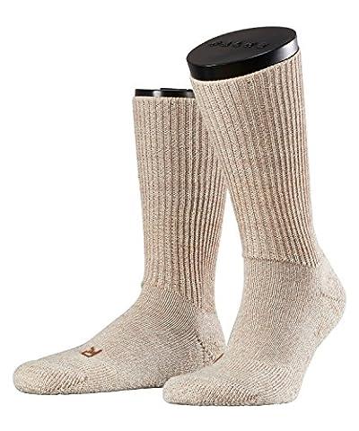 FALKE Unisex-Socken 16480 Walkie Trekking SO, Gr. 44/45, Beige (sand mel. 4490)
