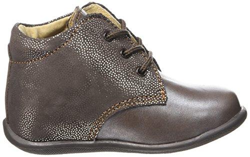 Minibel Habiah 16, Chaussures Premiers Pas Bébé Fille Marron (22 Marron/Imp Marron)