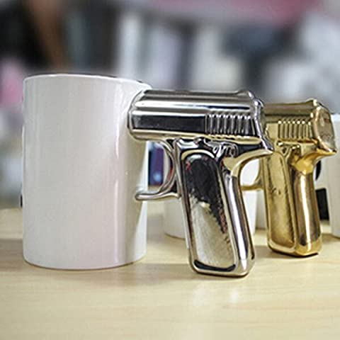 Gun Pistol Cup Handle Cup Handle Coffee Cup Ceramic Mug