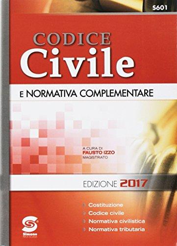 Codice civile e normativa complementare. Per le Scuole superiori