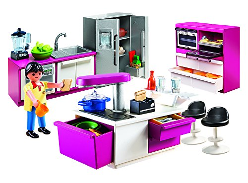 Playmobil 5582 modern kitchen at shop ireland for Cuisine playmobil