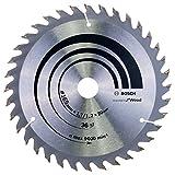 Bosch Professional Kreissägeblatt Optiline Wood für Handkreissägen, 165 x 20/16 x 1,7 mm, 36, 2608642602