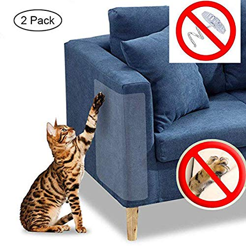JCT Mills Cat Claw Displayschutzfolie Pet Scratch Couch Displayschutzfolie Möbel Guard keine Pins -