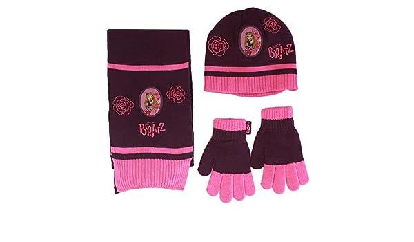 Bratz - Ensemble bonnet, écharpe et gants - Fille violet  Amazon.fr   Vêtements et accessoires 212e233b4fd